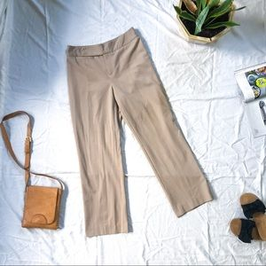 Nine West Khaki Trouser Dress Pant Stretchy